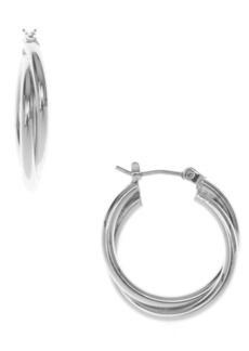 Nine West Twisted Hoop Earring