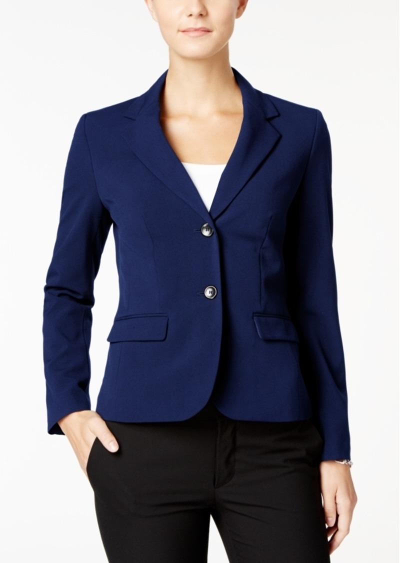 Nine West Two-Button Stretch Blazer