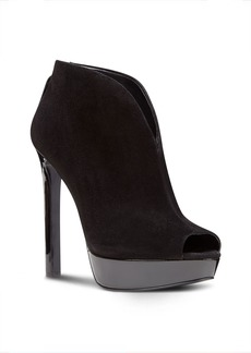 Nine West Vain Peep Toe Platform Booties