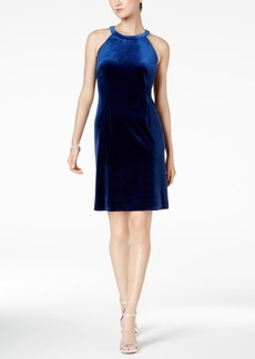 Nine West Velvet Sheath Dress