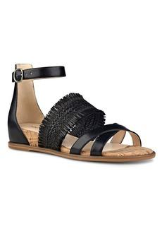 Nine West Vernell Fringed Demi Wedge Sandals