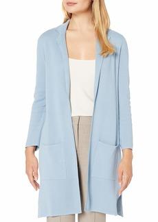 NINE WEST Women's 2 Pocket Notch Collar Sweater  XL