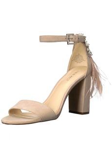 Nine West Women's AARONITA Suede Sandal Natural