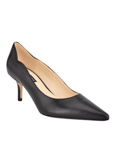 Nine West Women's Abaline Pointed Toe Low Pumps Women's Shoes