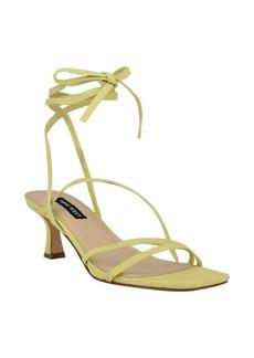 Nine West Women's Agnes Strappy Low Dress Sandals Women's Shoes