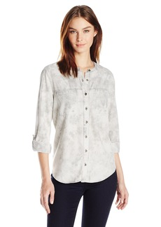 Nine West Women's Bailey Button Front Shirt  S