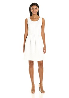 Nine West Women's Basketweave Dress