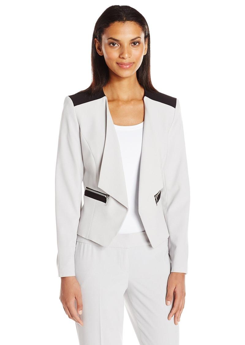 2875c54370b Women's Bi Stretch Kiss Front Jacket. Nine West. $27.01-$99.00. from Amazon  Fashion