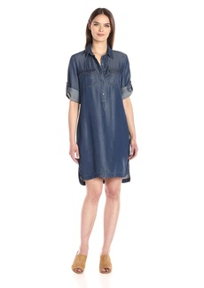 Nine West Women's Bobbi Tencel Shirt Dress  S