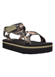 Nine West Women's Camping Platform Retro Sandals Women's Shoes