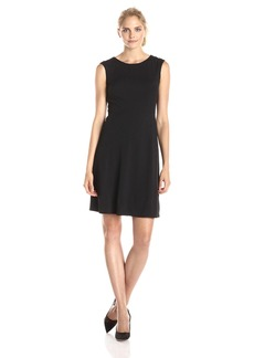 Nine West Women's Cap Sleeve Fit and Flare Dress