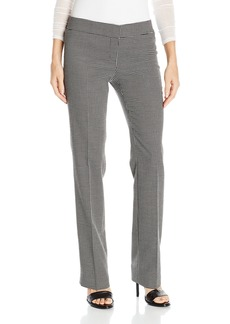 Nine West Women's Checked Poly Pant