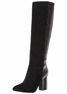 Nine West Women's CHEYIN Suede Knee High Boot