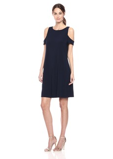 Nine West Women's Cold Shoulder Dress