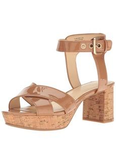 Nine West Women's Copper Patent Dress Sandal