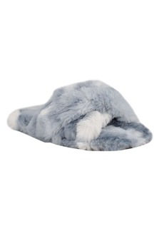 Nine West Women's Cozy Faux Fur Slippers Women's Shoes
