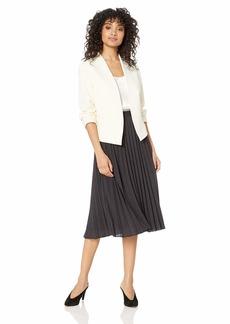 NINE WEST Women's Crepe Fly Away Jacket