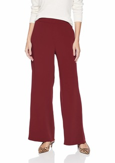 Nine West Women's Crepe Trouser Pant  L