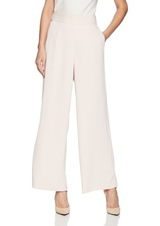 Nine West Women's Crepe Wide Leg Trouser Pant  XS