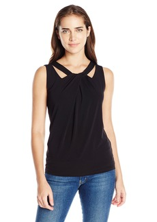 Nine West Women's Criss Cross Neck Cami