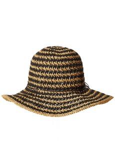 Nine West Women's Crochet Floppy HAT  one Size