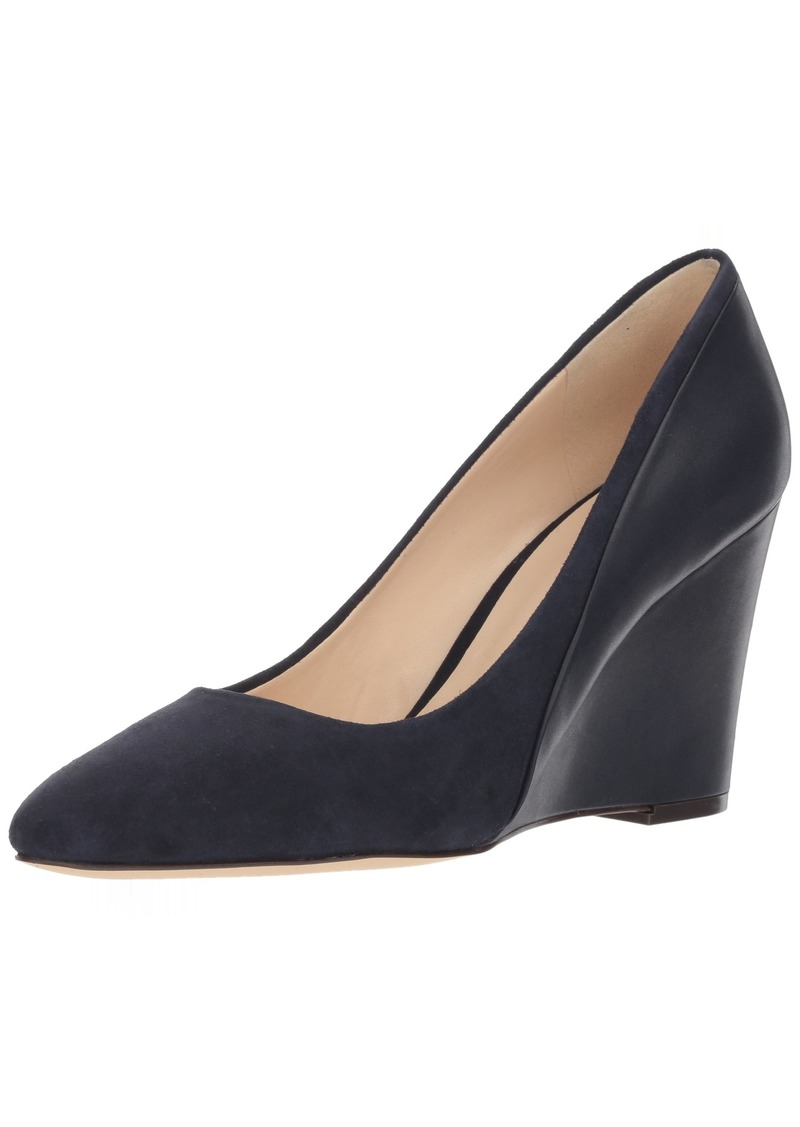 Nine West Women's DADAY Pump Navy Suede