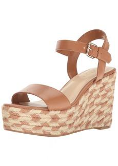 Nine West Women's Doitright Synthetic Wedge Sandal