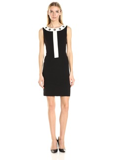 Nine West Women's Dress W/ Grommets