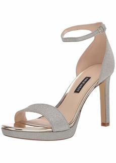 NINE WEST Women's EDYN3 Heeled Sandal