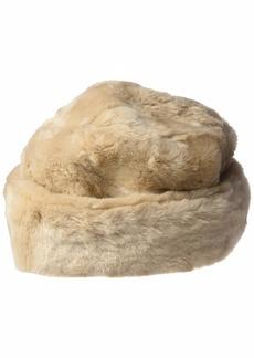 Nine West Women's Faux Fur Cuff Cloche