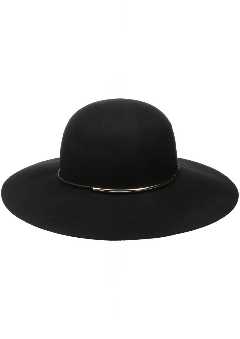 54902b59626 Nine West Nine West Women s Felt Floppy Hat with Metal Tube