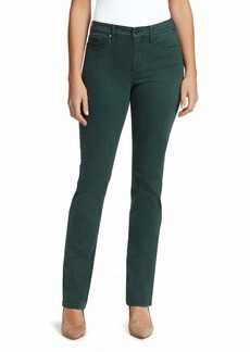 NINE WEST Women's Gramercy Slim Straight Full Length Jean   Regular