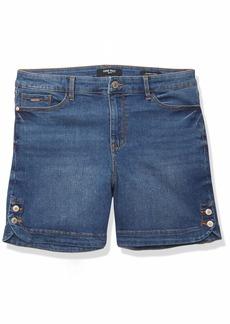 NINE WEST Women's Gramercy Stylish Jean Short   Regular