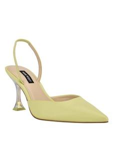Nine West Women's Happy Pointed Toe Sling Back Pumps Women's Shoes