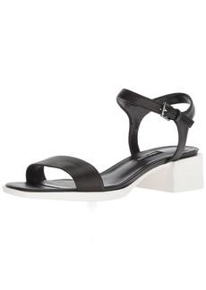 Nine West Women's INVESTING Leather Heeled Sandal
