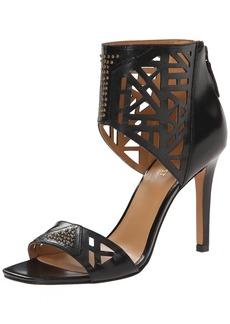Nine West Women's Karabee Leather Heeled Sandal