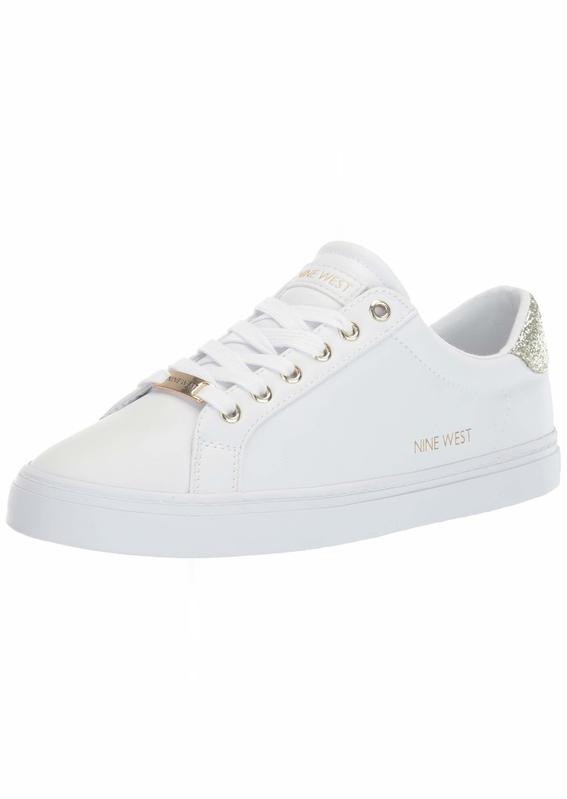 NINE WEST womens Lace Up Fashion Sneaker   US