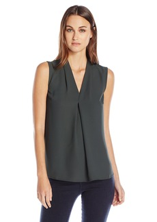 Nine West Women's Light Weight Crepe Solid Cami