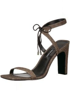 Nine West Women's Longitano Fabric Heeled Sandal