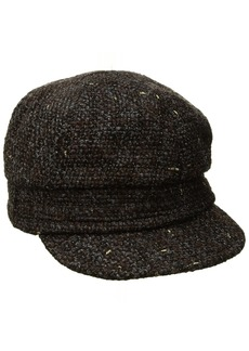 Nine West Women's Lurex Boucle Newsgirl Hat