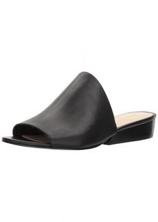 Nine West Women's LYNNEAH Leather Slipper Black