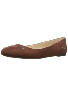 Nine West Women's Mary Fabric Ballet Flat