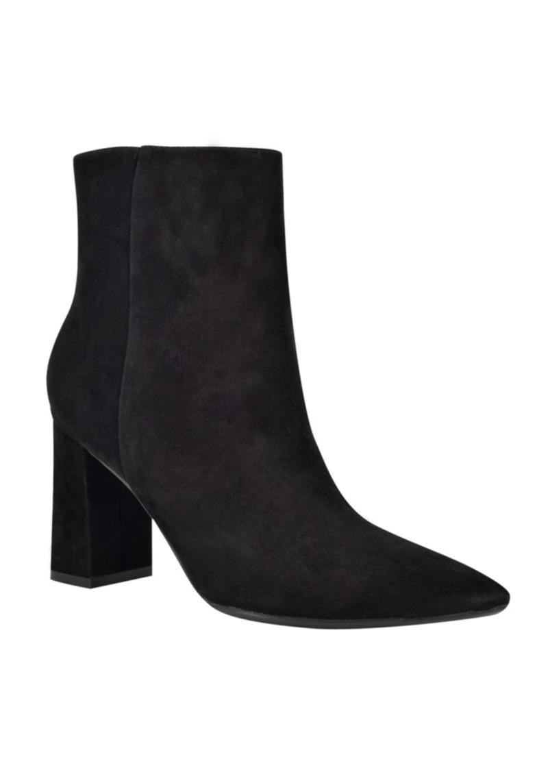 Nine West Women's Medium Cacey 9X9 Heeled Booties Women's Shoes
