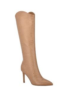 Nine West Women's Medium Erli Stiletto Dress Boots Women's Shoes