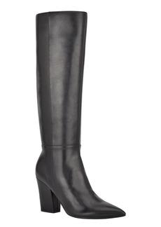 Nine West Women's Medium Gabal Heeled Boots Women's Shoes