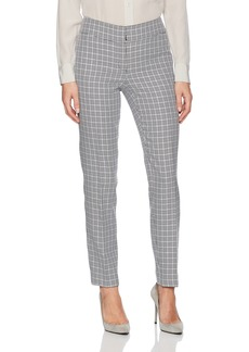 Nine West Women's Mini Houndstooth Slim Pant