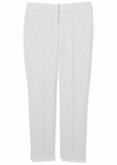 NINE WEST Women's Herringbone Skinny Pant Lily/Black-AR0