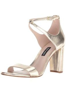 Nine West Women's NUNZAYA Metallic Heeled Sandal