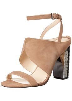 Nine West Women's Octavia Suede Dress Sandal
