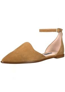 Nine West Women's Oriona Suede Flat Sandal